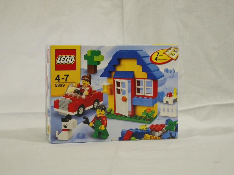 #5899 レゴ 犬のいる家