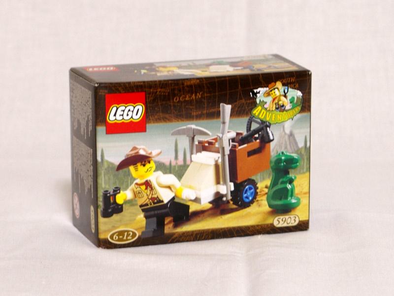 #5903 レゴ ジョーンズと赤ちゃんテラノ