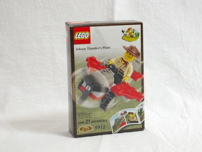 #5911 レゴ ジョニー・サンダースの飛行機