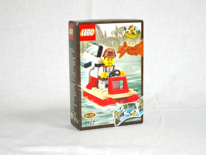#5912 レゴ マイクのホバークラフト