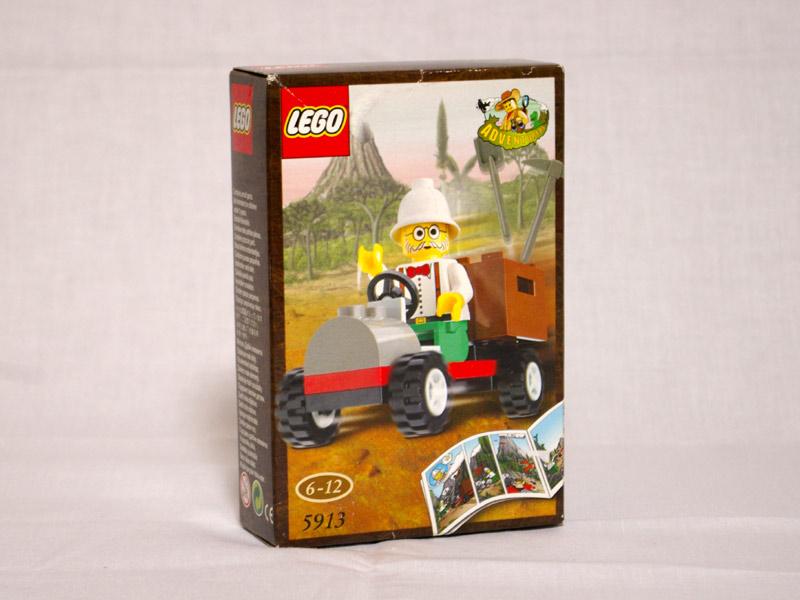 #5913 レゴ チャールズ博士の車