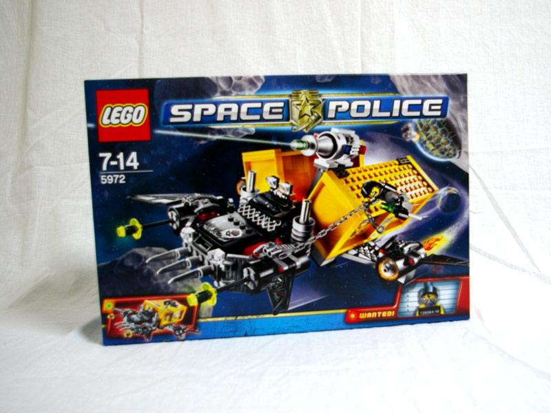 #5972 レゴ 逃走用スペーストラック