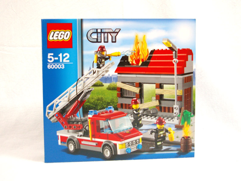 #60003 レゴ ファイヤートラックとハウス