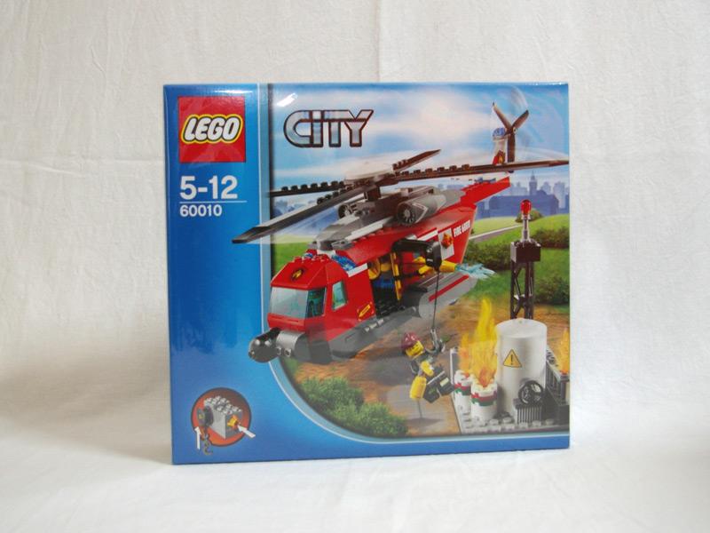 #60010 レゴ ファイヤーヘリコプター