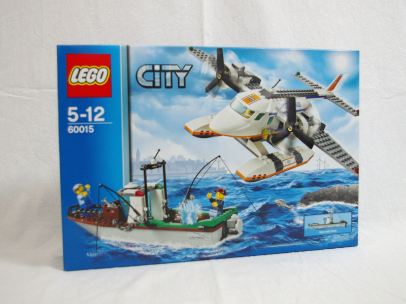 #60015 レゴ レスキュープレーンとフィッシングボート