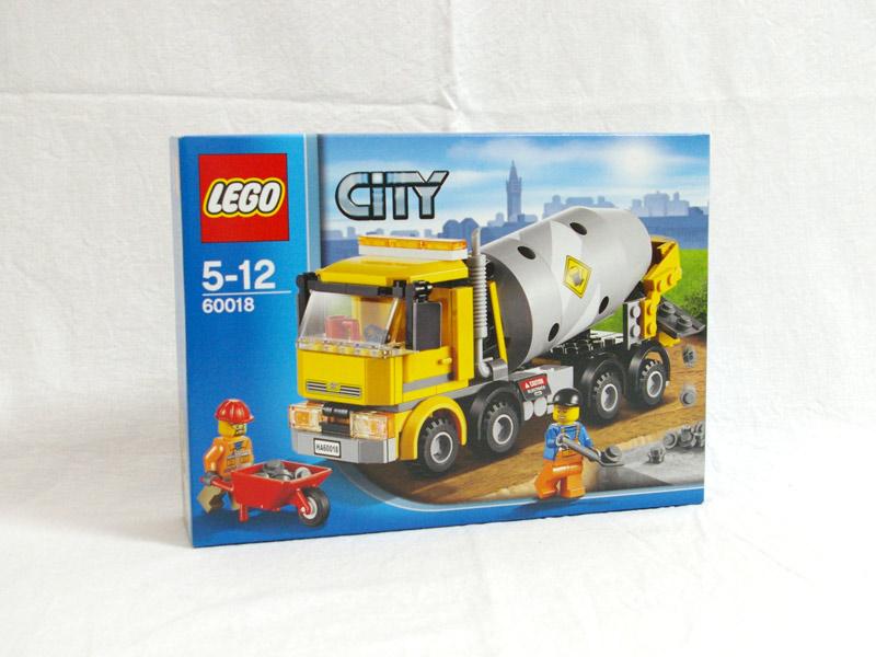 #60018 レゴ コンクリートミキサー車