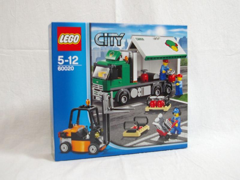 #60020 レゴ エアカーゴトラック