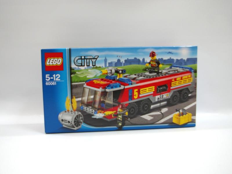 #60061 レゴ エアポートファイヤートラック