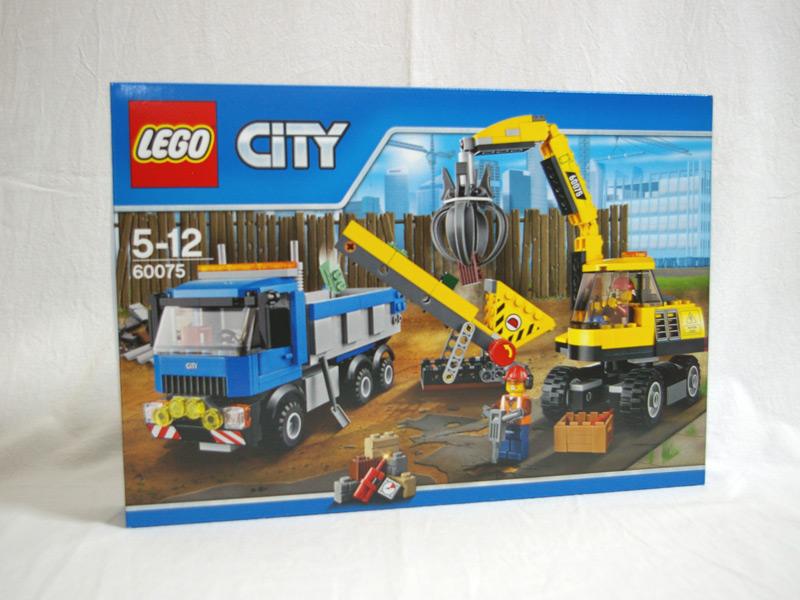 #60075 レゴ パワーショベルとトラック