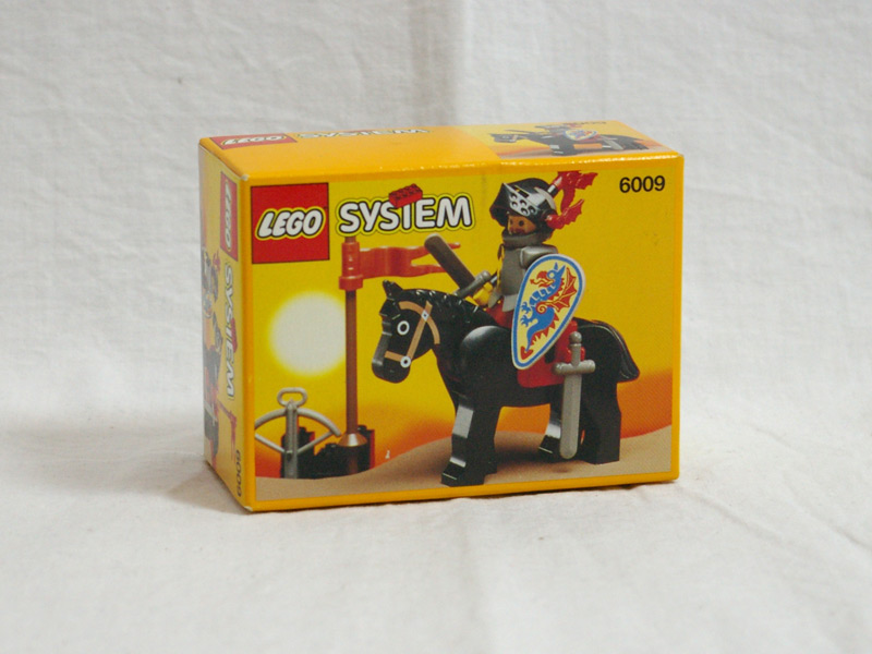 #6009 レゴ ブラックナイトの騎士