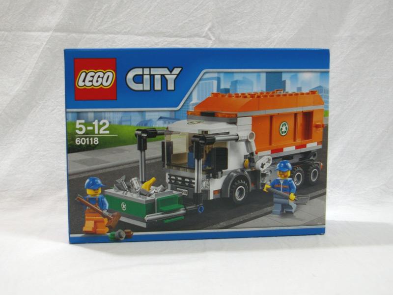 #60118 レゴ ゴミ収集車