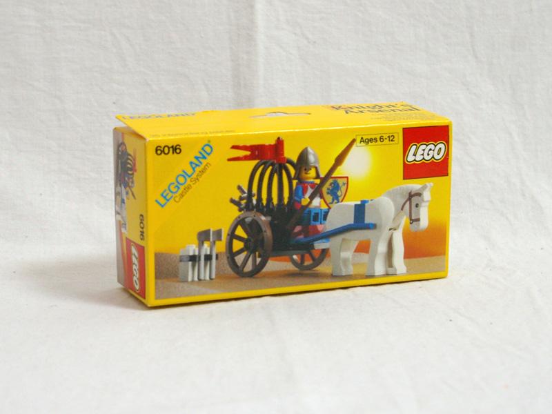 #6016 レゴ 白馬車