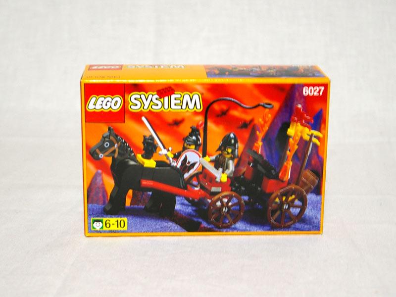 #6027 レゴ コウモリ軍団の馬車