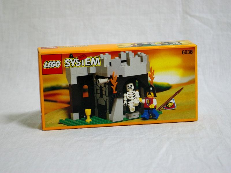 #6036 レゴ ガイコツと見張り番