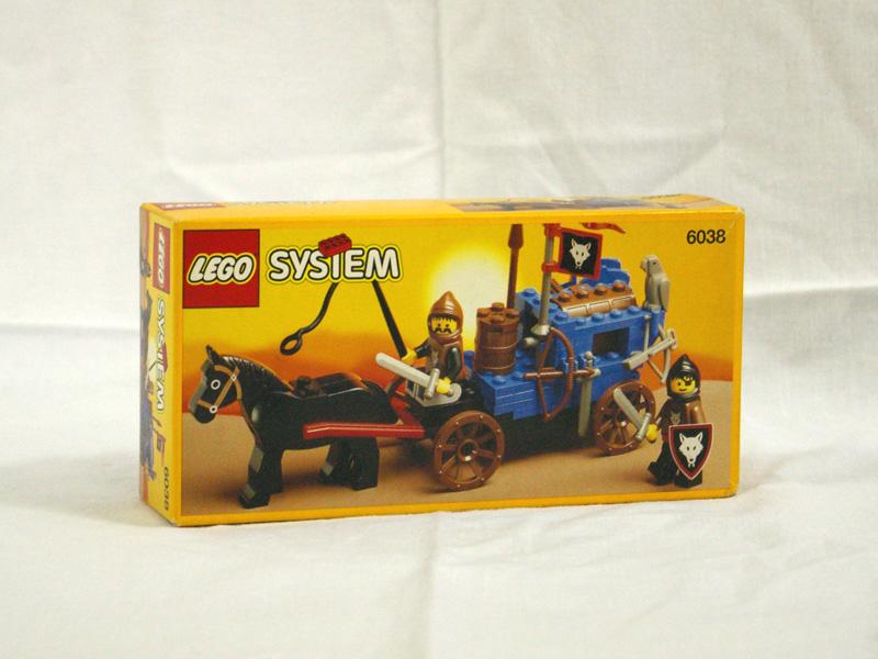 #6038 レゴ ウルフ盗ぞく団の荷馬車