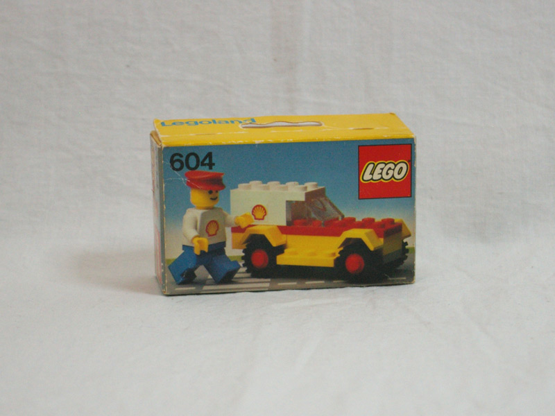 #604 レゴ シェルサービスカー