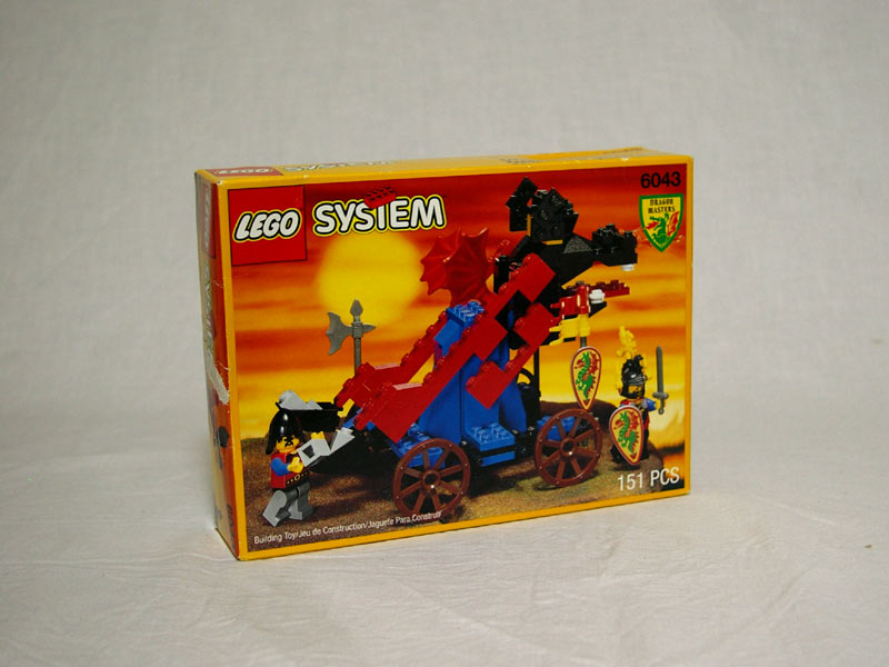 #6043 レゴ ドラゴンカタパルト