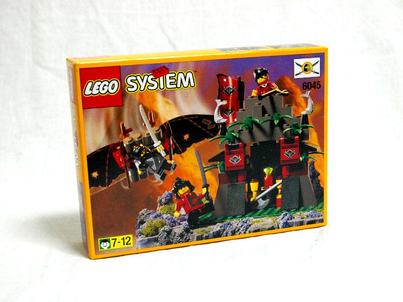#6045 レゴ 黒ニンジャのかくし蔵