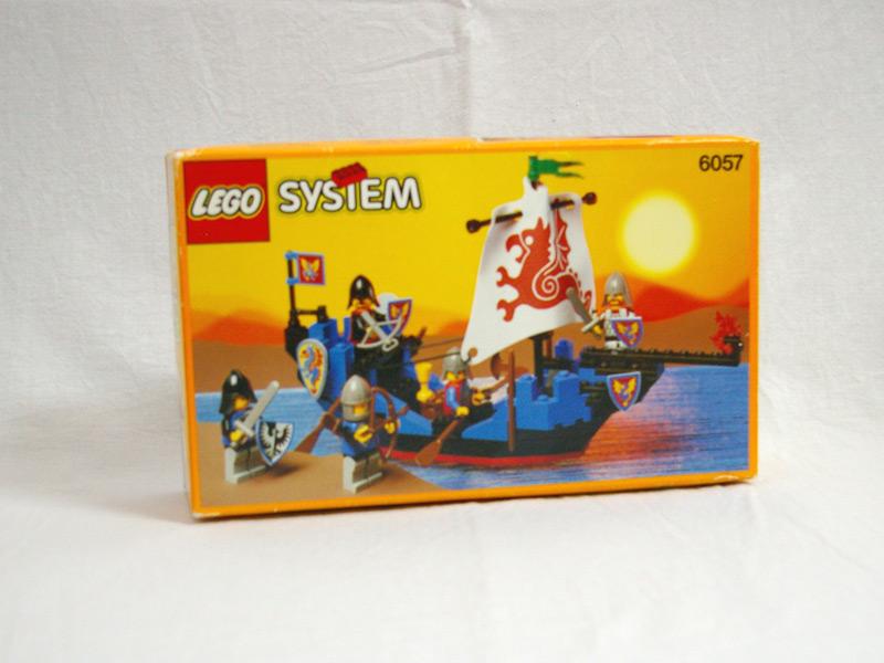 #6057 レゴ ブラックナイトシップ