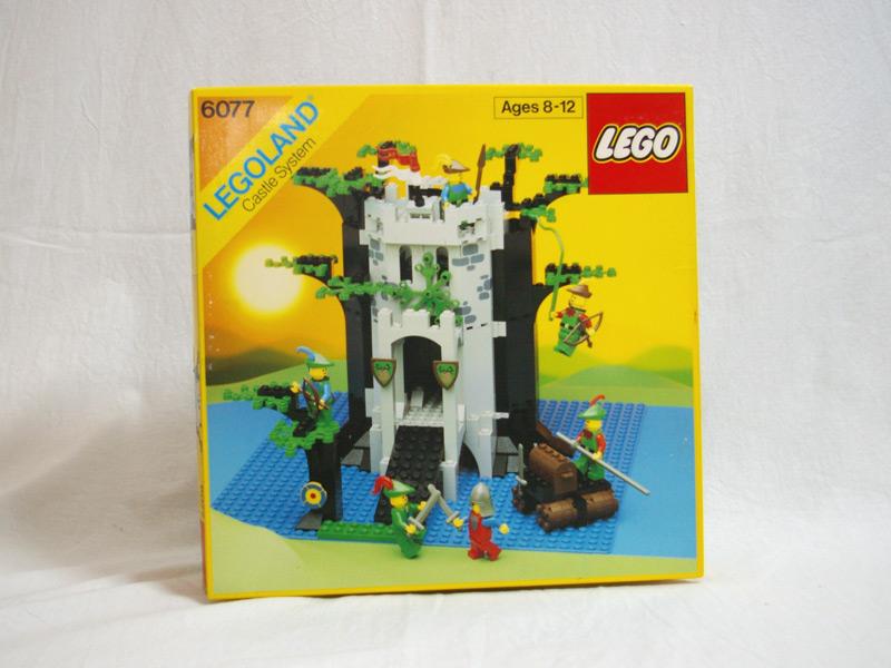 #6077 レゴ 森の人のとりで