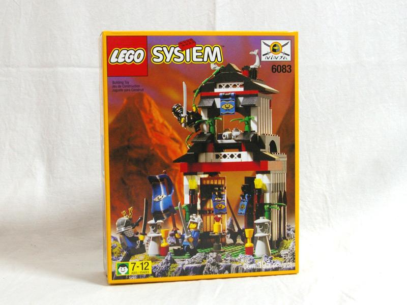 #6083 レゴ サムライの城