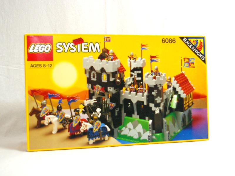 #6086 レゴ ブラックナイト城