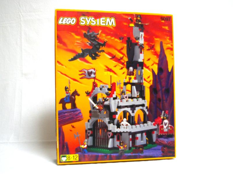 #6097 レゴ コウモリ男爵の城