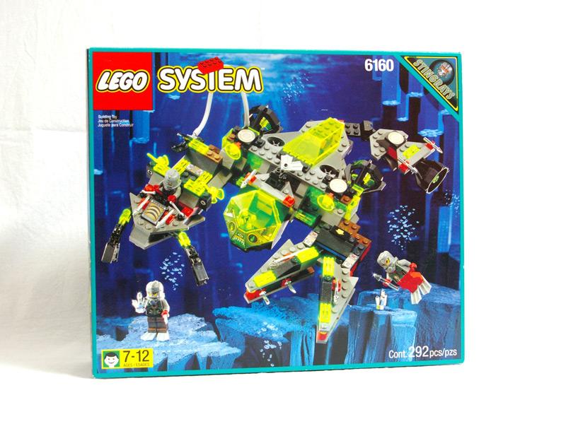 #6160 レゴ シースコーピオン