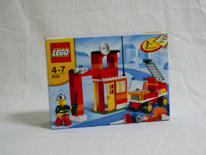 #6191 レゴ 基本セット・消防