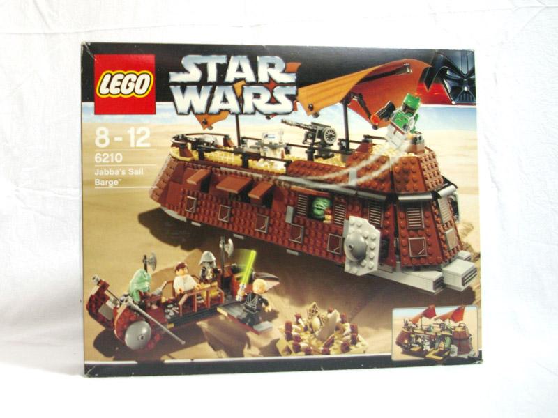 #6210 レゴ ジャバのセール・バージ