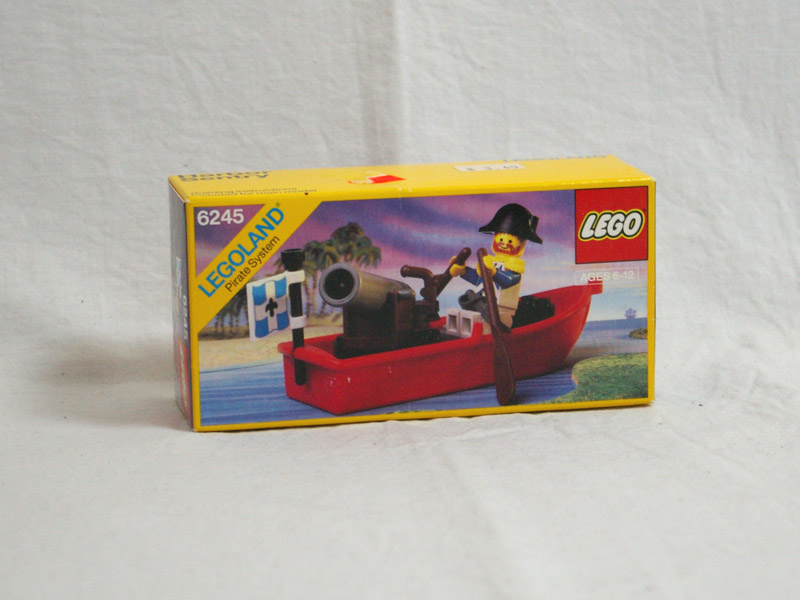 #6245 レゴ 大砲をつんだボート