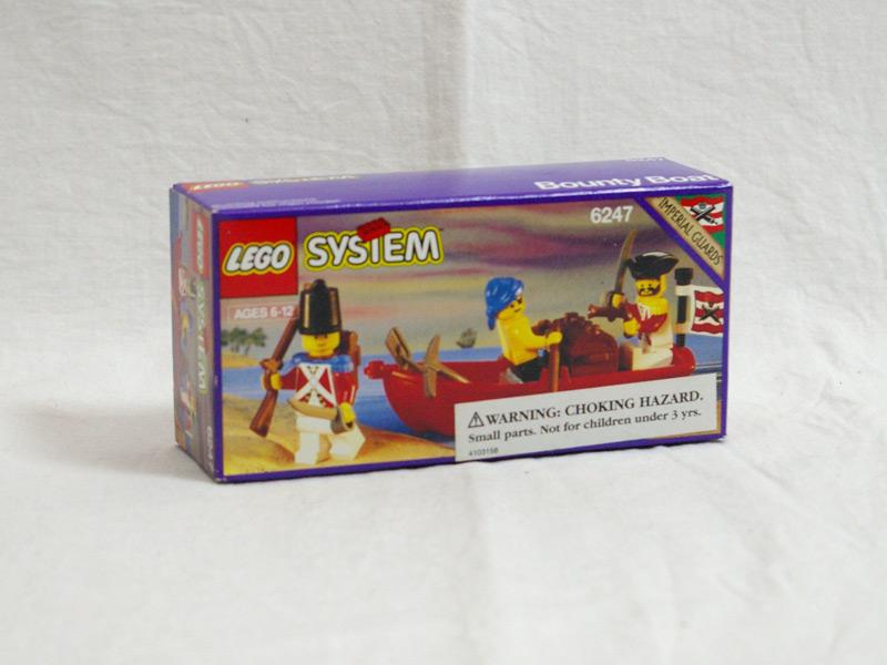 #6247 レゴ 宝をつんだボート