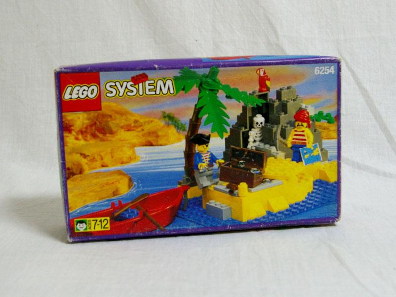 #6254 レゴ 宝の小島