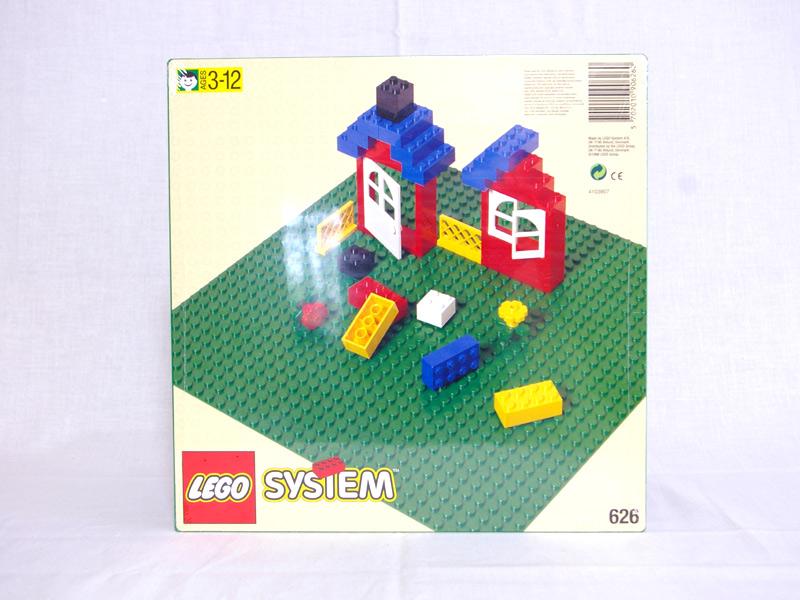 #626 レゴ 基礎板(緑)