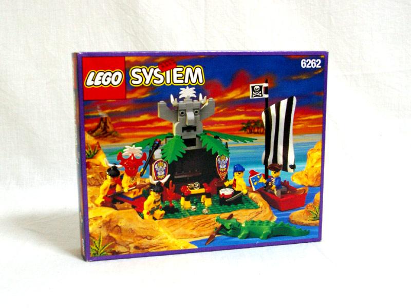 #6262 レゴ 謎の石像リキリキ