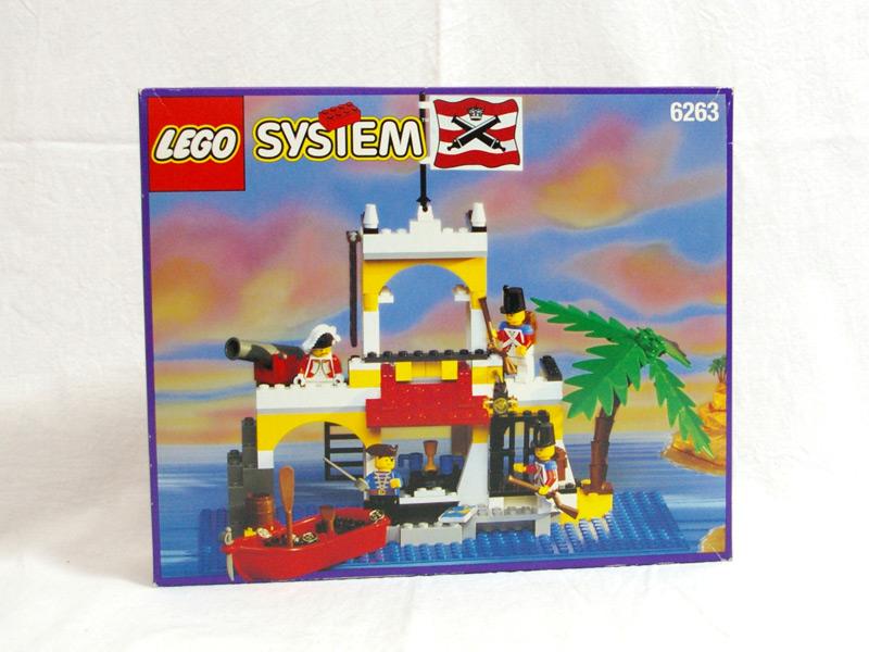 #6263 レゴ 総とくのとりで