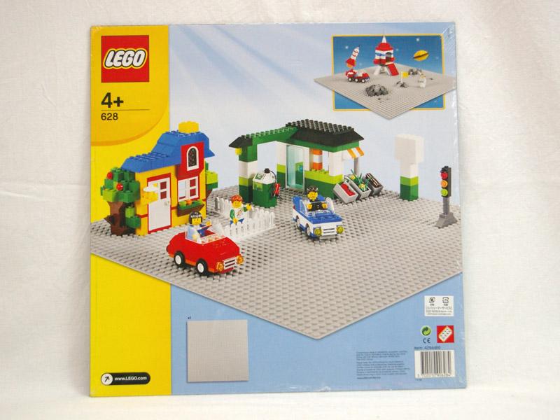#628 レゴ基礎板(灰色)