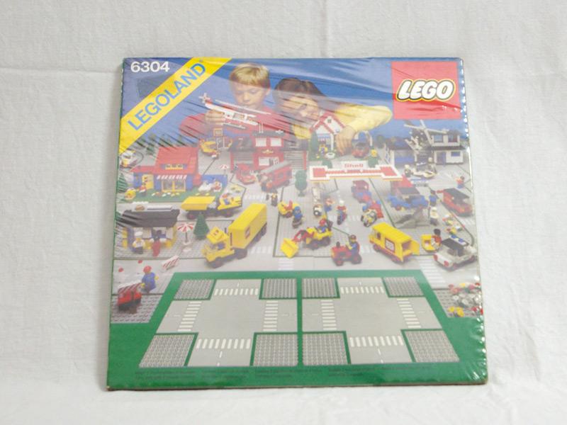 #6304 レゴ ロードプレート十字路