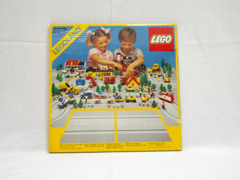 #6312 レゴ ロードプレート直線(2枚入り)