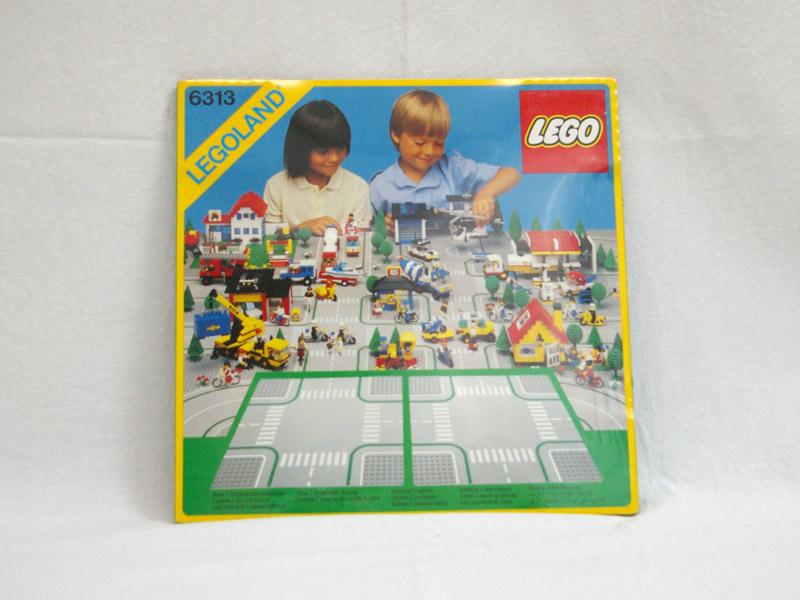 #6313 レゴ ロードプレート十字路入り)