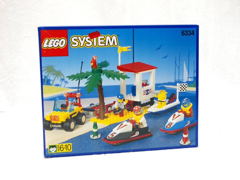 #6334 レゴ ジェットボートレース