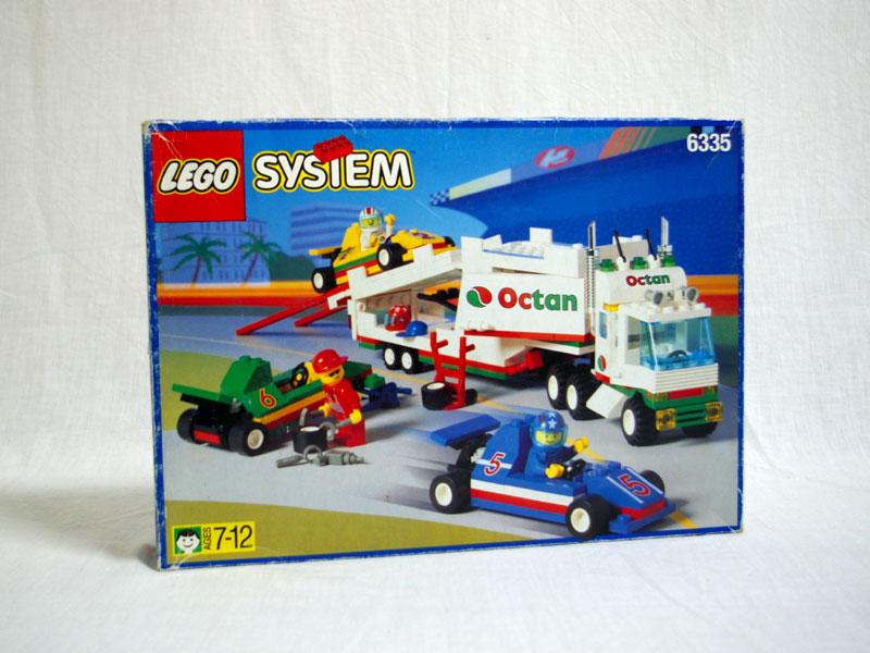 #6335 レゴ F1キャリートレーラー