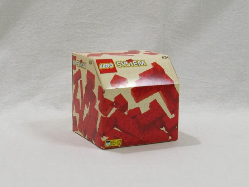 #634 レゴ 基本ブロック(赤)