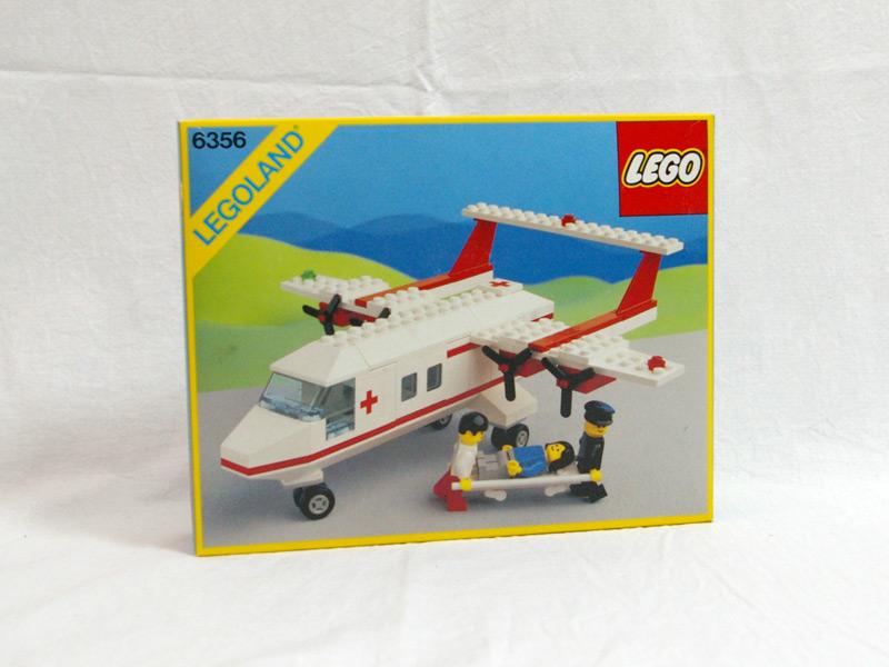 #6356 レゴ 救急飛行機