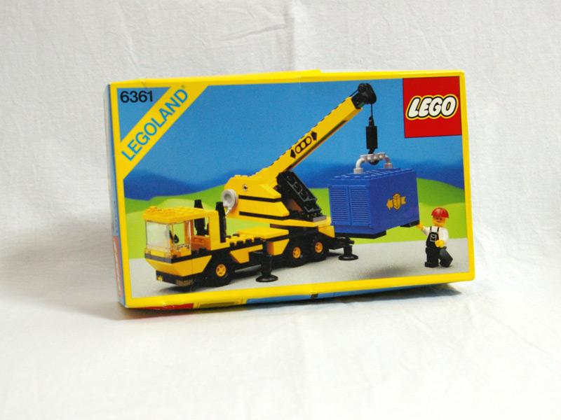 #6361 レゴ 大型クレーン車