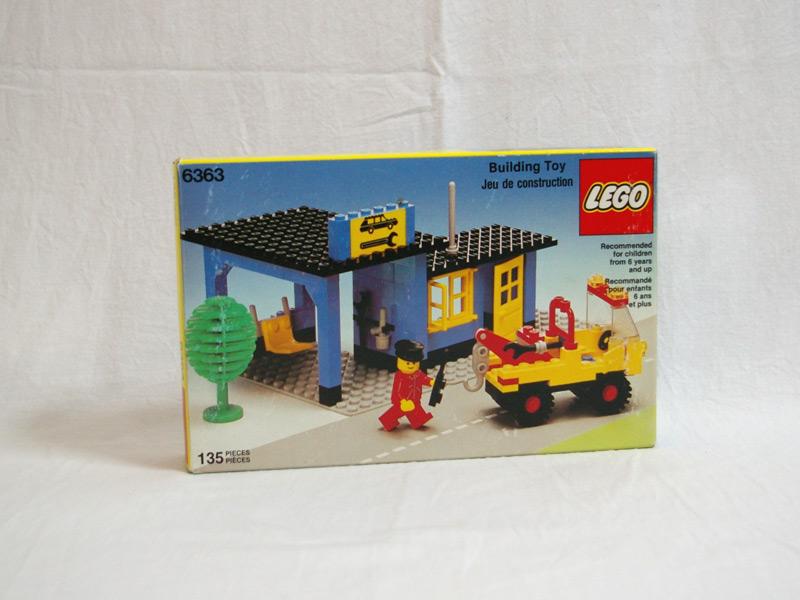 #6363 レゴ 自動車修理工場