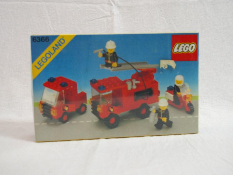 #6366 レゴ 消防車セット