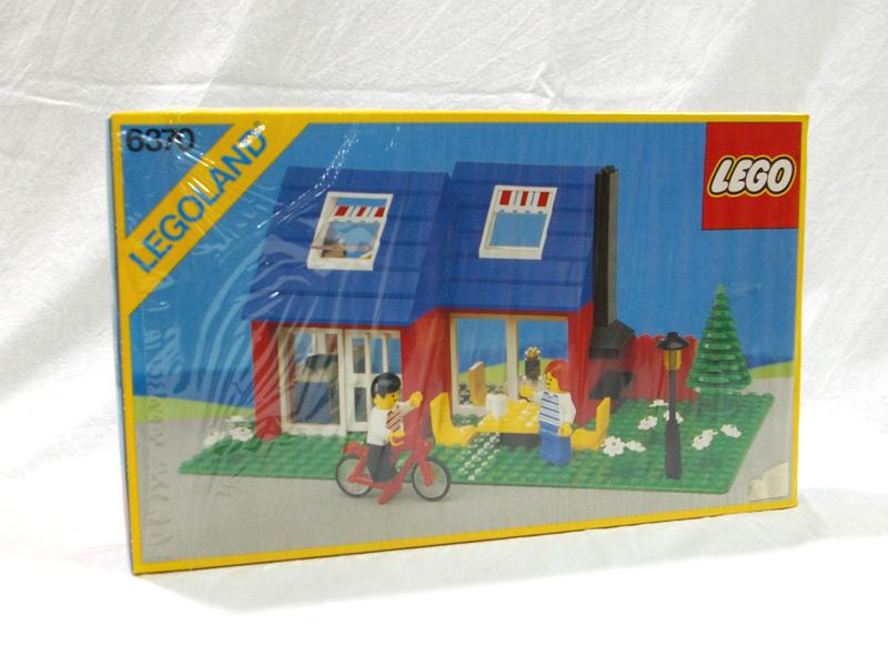 #6370 レゴ 自転車のある家