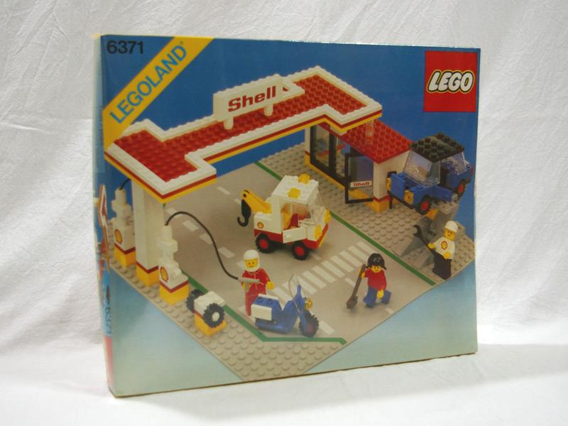 #6371 レゴ ガソリンスタンド