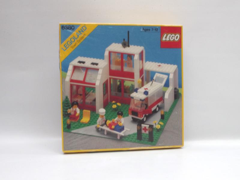 #6380 レゴ 救急病院
